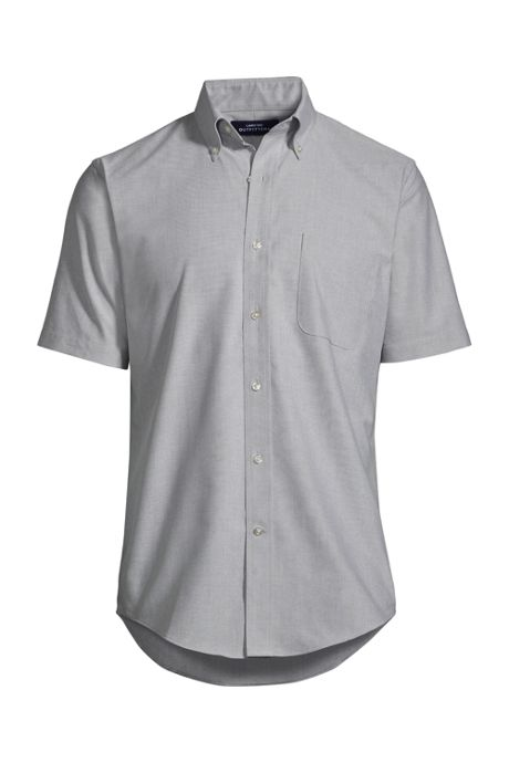 Men's Short Sleeve Button Down Oxford Shirt