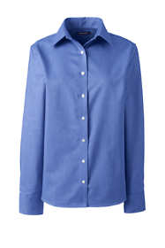 School Uniform Women's Long Sleeve Oxford Shirt