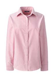 School Uniform Women's Long Sleeve Oxford Shirt