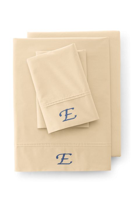 School Uniform Cotton Percale Pintuck Pillowcases - 200 Thread Count