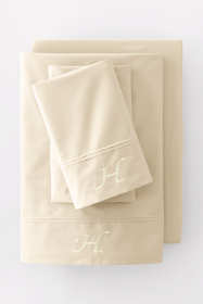 Percale Solid Pintuck Pillowcases