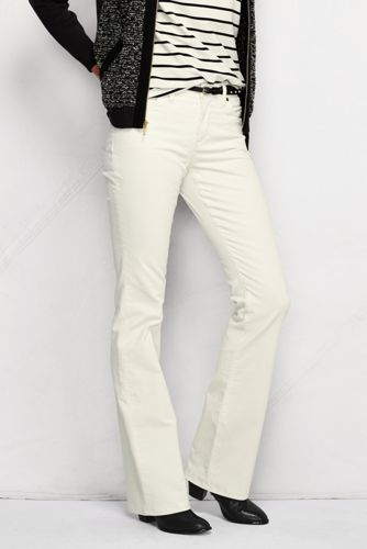 Women's Regular Mid Rise Bootcut Cords
