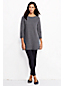 Women's Regular Starfish French Terry Boatneck Tunic