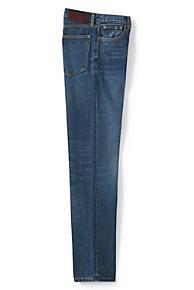 Mens Coloured Regular Fit Jeans - 30 30 - BROWN Lands End bu7Pe