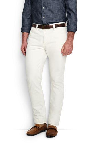 Le Jean 5 Poches Coupe Ajustée Homme, Taille Standard