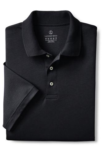 Men's Short Sleeve Hemmed Pima Polo Shirt