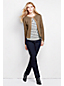 Women's Regular Cotton Blend Jacquard Cardigan