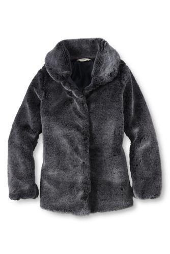 Little Girls' Faux Fur Jacket