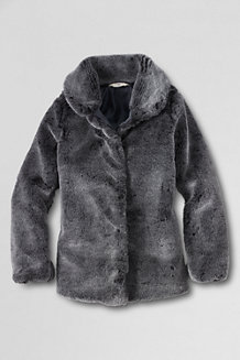 Girls' Faux Fur Jacket