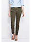 Women's Regular Low Rise Muted Moss Camo Slim Leg Jeans