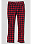 Little Girls' Plaid 5 Pocket Zip Hem Pencil Trousers