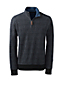 Men's Regular Patterned Brushed Rib Pullover