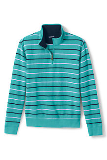 Men's Brushed Rib Half Zip Jumper