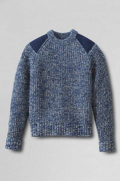 Fisherman Shaker Crewneck 449036
