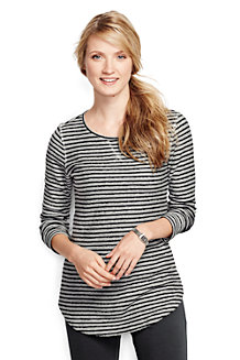 Women's Starfish Jacquard Stripe Tunic