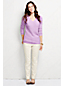 Women's Regular Classic Cashmere Cable V-neck Jumper