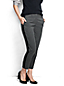 Slim Fit Stretch-Twillhose im Smoking-Stil