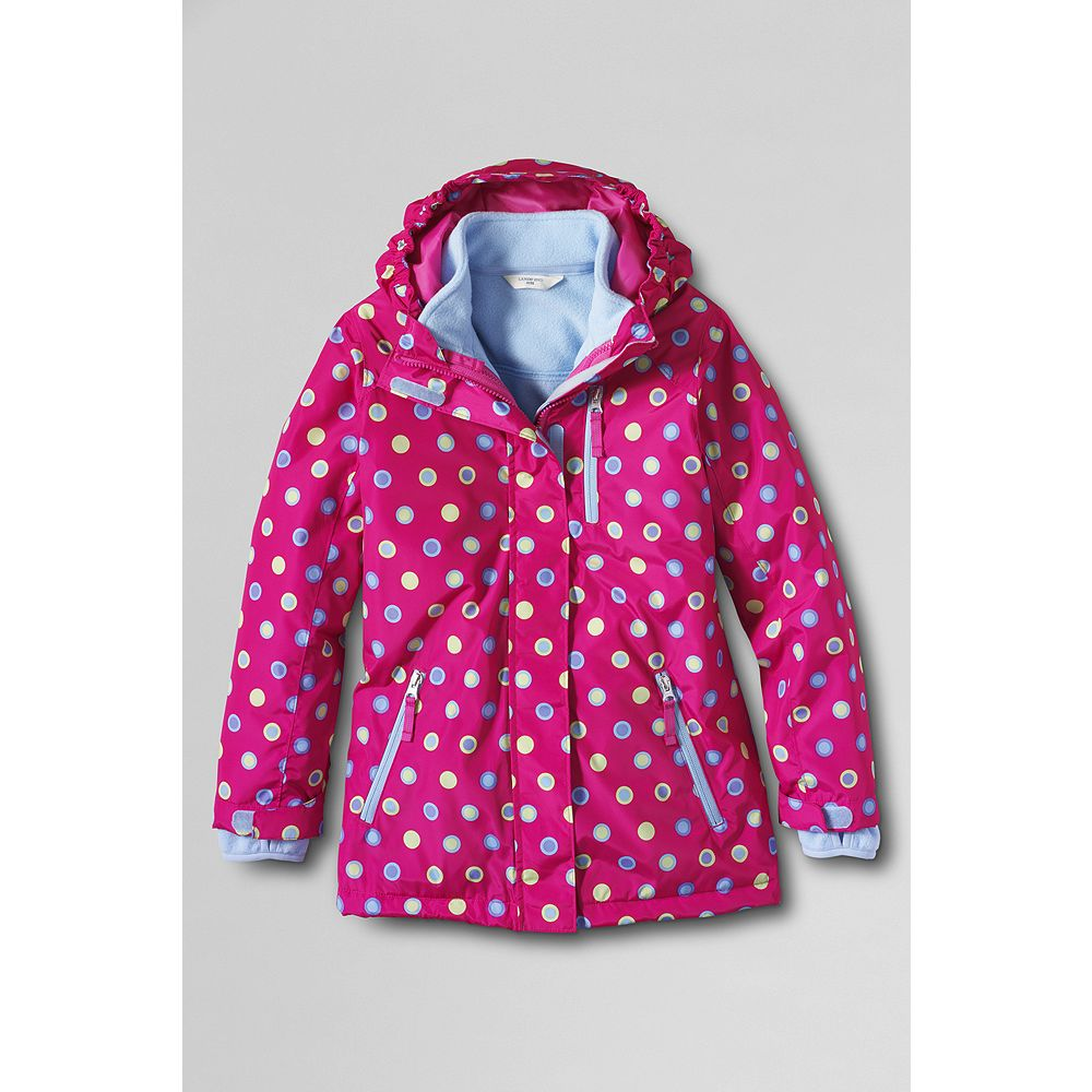 Lands' End Girls' Print Stormer System 3-in-1 Parka at Sears.com