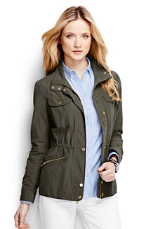 Women's Military Anorak