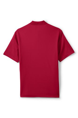 Men's Tall Short Sleeve Solid Active Polo