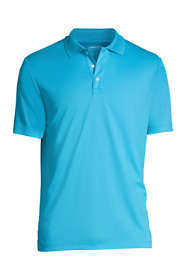 Men's Short Sleeve Solid Active Polo Shirt