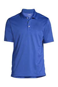 Men's Big Short Sleeve Solid Active Polo Shirt