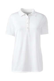 Women's Short Sleeve Solid Active Polo