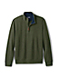 Men's Heather Brushed Rib Half Zip Jumper