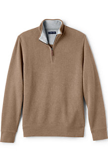 Men's Heather Brushed Rib Pullover
