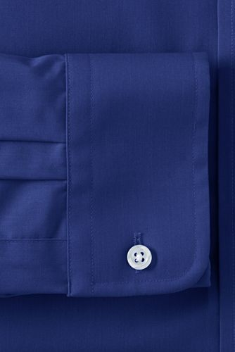 Men's Long Sleeve Straight Collar Perfect Dress Shirt