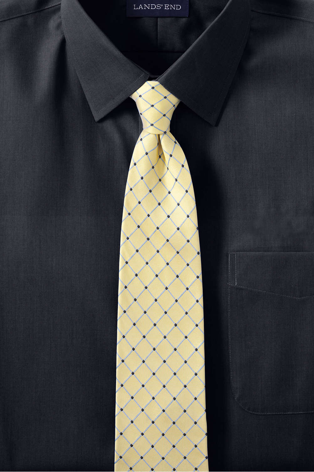 3b50f88b Men's Long Sleeve Straight Collar Perfect Dress Shirt