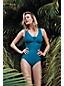 Women's Regular Slender V-neck Swimsuit