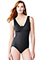 Women's Regular DD-cup Slender V-neck Swimsuit