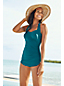 Women's Regular DD-cup Slender Tunic Swimsuit