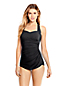Women's D-cup Slender Tunic Swimsuit