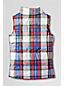 Little Girls' Plaid Insulated Gilet