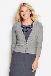 Women's Cashmere Dress Cardigan