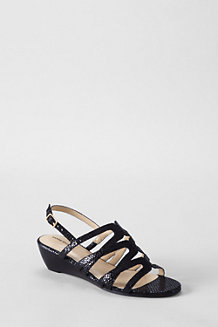 Women's Georgina Low Wedge Sandals