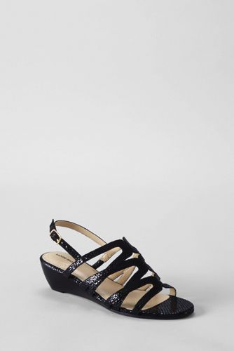 Women's Regular Georgina Low Wedge Sandals