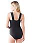 Women's Regular Shape and Enhance Ring Front Swimsuit