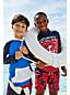 Little Boys' Long Sleeve Colourblock Rash Guard Hoodie