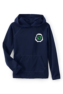 Boys' Long Sleeve Rash Guard Hoodie