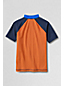 Little Boys' Short Sleeve Graphic Rash Guard Top