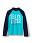 Toddler Boys' Long Sleeve Graphic Rash Guard Top