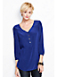 Women's Regular Bracelet-sleeve Silk Tunic