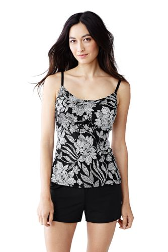 Beach Living Tankini-Top Floral, D-Körbchen