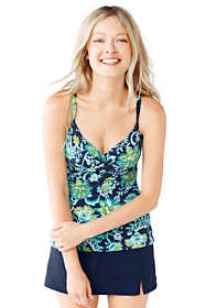 Women's Beach Living Crossover Tankini Top