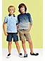 Gemustertes Piqué-Polo für kleine Jungen