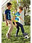 Little Boys' Patterned Piqué Polo