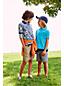 Piqué-Polo mit gestreiftem Kragen für kleine Jungen